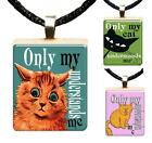 Only My Cat Understands Me Scrabble Tile Pendant Cat Lovers Jewelry Gift