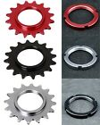 J&L 7075 Alloy Cog/freewheel+Lock Ring-for Joytech&Shimano fixed gear&Track hub