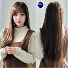 Women Girl Lady Air Natural Fringe Cosplay Costume Party LONG Full Hair Wigs