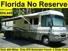 NO RESERVE 2003 WINNEBAGO ADVENTURER 38FT CLASS A RV MOTORHOME CAMPER 2 SLIDES