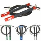 Sporteq Cable Skipping Rope,Fitness Cross fit Adjustable Jump Speed Boxing MMA