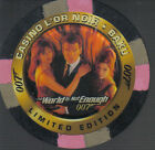 JAMES BOND THE WORLD IS NOT ENOUGH CASINO CHIP C2 $11.94 AUD