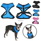 Soft Mesh Fabric Vest Dog Puppy Pet Adjustable Harness Lead Leash With Clip Hot