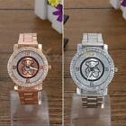 Brand New Ladies Bear Stainless Steel Quartz Rhinestone Crystal Wrist Watch LGG