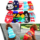 1pc Fashion Puppy Cat Dog Sweater Knitwear Coat Apparel Pet Clothes Random Color