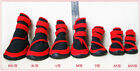 Waterproof Pet Rain Boots Protective Shoe Small Large Dog Booties 4 Size 4Ps/Set