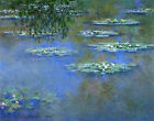 Water Lilies Claude Monet Fine Art Painting Reproduction Prints on Canvas Giclee