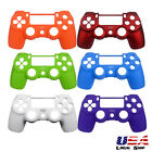 Soft Touch Faceplate for PS4 Controller Anti-Slip Front Shell Case Replacement