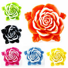 New Fashion Gig Rose Flower Resin Ring Wedding Vintage 6 Colors Size 7-9