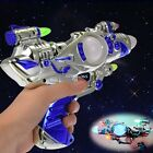 Kids LED Flashing Light up Space Pistol Gun with Firing Sound Effects N4U8