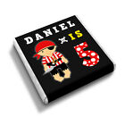 Personalised PIRATE BOY  3rd 4th 5th 6th Birthday Party Bag  Favour Chocolates