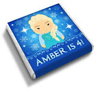 Personalised FROZEN Elsa Anna Girl's Birthday Party Bag Favour Chocolates