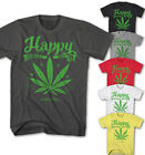 ★Herren T-shirt Marihuana Happy Weed Bob - Musik Party Neu S-5XL HW6415★