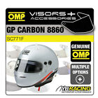 SC771F OMP GP GRAND PRIX CARBON 8860 HELMET OPTIONAL EXTRA VISORS & ACCESSORIES