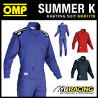 NEW! KK01719 OMP SUMMER K KART SUIT INDOOR KARTING OVERALLS 3 COLOURS