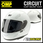 SALE! SC611 OMP CIRCUIT HELMET FULL FACE KARTING / TRACK DAY / RALLY