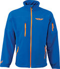 Fly Racing Adult Wind-D Jacket Blue Coat S-2XL