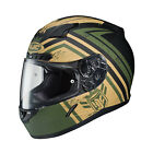 HJC 2015 ADULT Street Helmet CL-17 Mech Hunter MC4F Green XS-3XL