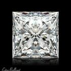1.01ct I/VS2/Ideal-Pol Princess Cut AGI Certify Genuine Diamond 5.80x5.75x3.90mm
