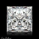 0.91ct J/VS2/Ideal-Pol Princess Cut GIA Certify Genuine Diamond 5.24x5.24x3.91mm
