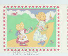 Sun Bonnet Sue Holly Hobbie Hobby Doll Vtg Heart Girl Baby Wall Border Wallpaper