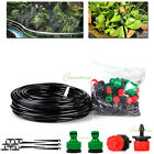 5/10/15m Micro Drip Self Watering Irrigation System Patio Garden Hose Drippers