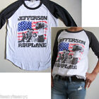 Junk Food Jefferson Airplane Vintage Finish Color Block Raglan Sleeve T-shirt NW