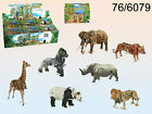 Wind Up 3D Animal Puzzle - Science Model Party Bag Moving - Lion Tiger Elephant