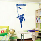 Football Goal - Personalised Wall Decal Art Stickers children bedroom nursery