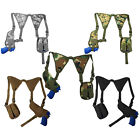 Every Day Carry Tactical Under Arm Shoulder Pistol Holster w/Double Mag Pouch