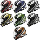 Gmax FF49 Warp Full Face Street Helmet Adult All Sizes All Colors