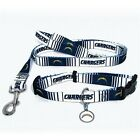 San Diego Chargers NFL PET DOG COLLAR & LEASH & ID TAG Set (All Sizes) $22.99 USD