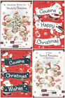 To Special Cousins Christmas Card - Good Quality - Various Designs