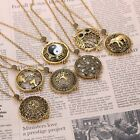 Necklace Magnifier Loupe 5x Magnifying Glass Pendant Gold Color Grandma Gift Box