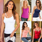 Fashion Womens Summer Vest Tops Sleeveless Shirt Blouse Casual Tank Tops T-Shirt