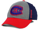 REEBOK NHL MONTREAL CANADIENS 2014 TNT NAVY GRAY RED HAT CAP NEW