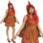 Ladies Sexy Chick Chicken Fancy Dress Costume Womens Outfit UK 8-22 UK 8-30