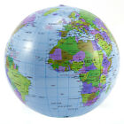 40cm Inflatable Globe Education Geography Toy Map Balloon Beach Ball Toys 5/10