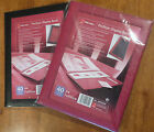 ACCO REXEL PROSTYLE FULL SIZE DISPLAY BOOK A4  20 or 40 POCKETS  RED or BLACK