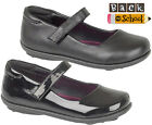 GIRLS MARY JANE BACK TO SCHOOL SHOES VELCRO INFANT FORMAL CASUAL FLAT PARTY SIZE
