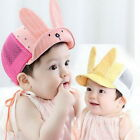Cartoon Baby Unisex Cute Animal Rabbit Bunny Ears flanging infant Cap Sun Hat G
