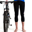 SOBIKE Cycling 3/4 Pants Men's Sports Outdoor Tight Pants Black New Spring Fall
