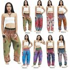 Pants PDC Thailand CIRCLE Harem Genie Baggy Aladdin Casual Yoga Boho Women Men