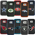 For Samsung Galaxy S7 - Official NFL Rugged Impact 4D Cut Logo Cover Fan Case