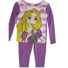 Disney Little Girls Purple Rapunzel Image 2 Pc Pajama Set 4-6