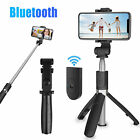 Extendable Selfie Stick Bluetooth Remote Tripod Camera Shutter For Smart Phone