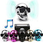Cool Skull Head Shape Portable Wireless Bluetooth Speaker for iPhone/MP3 Player