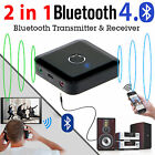 Bluetooth 4.0 Receiver Transmitter 2-in-1 Stereo Music Audio Bluetooth Adapter
