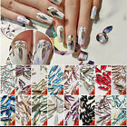 1Pc Shining Rhinestone Waterdrop Pattern Crafts 3D Nail Art Decoration DIY