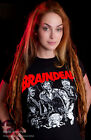DEAD ALIVE shirt BRAINDEAD HORROR MOVIE ZOMBIE CULT FUNNY WALKING LIVING UNDEAD